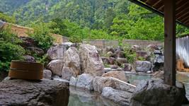 中房温泉 湯原の湯