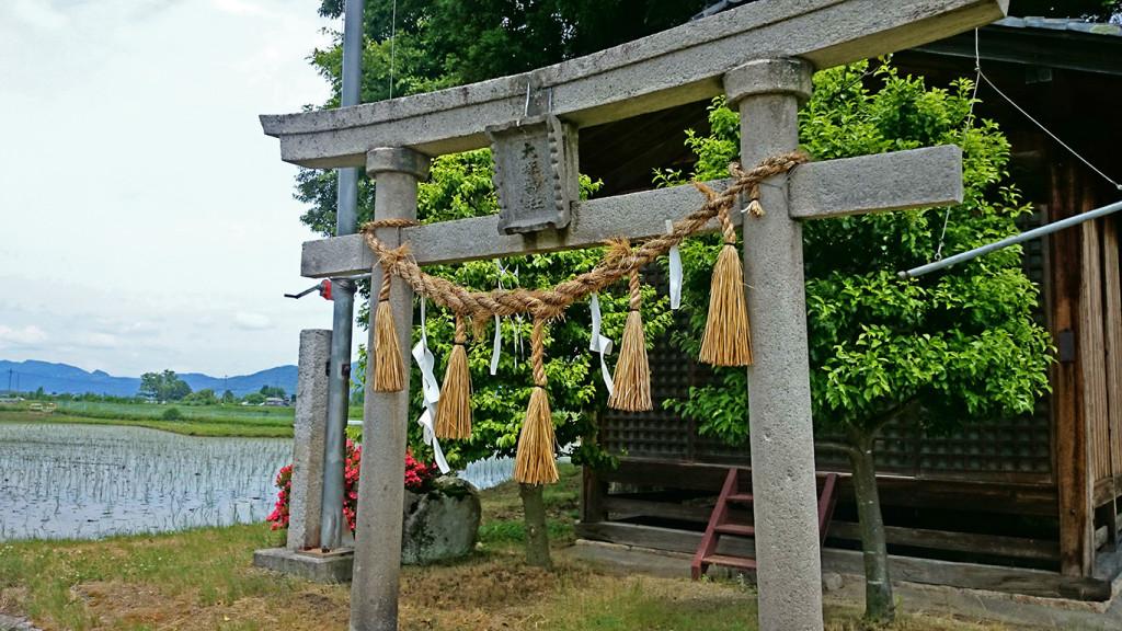 大塚神社の鳥居