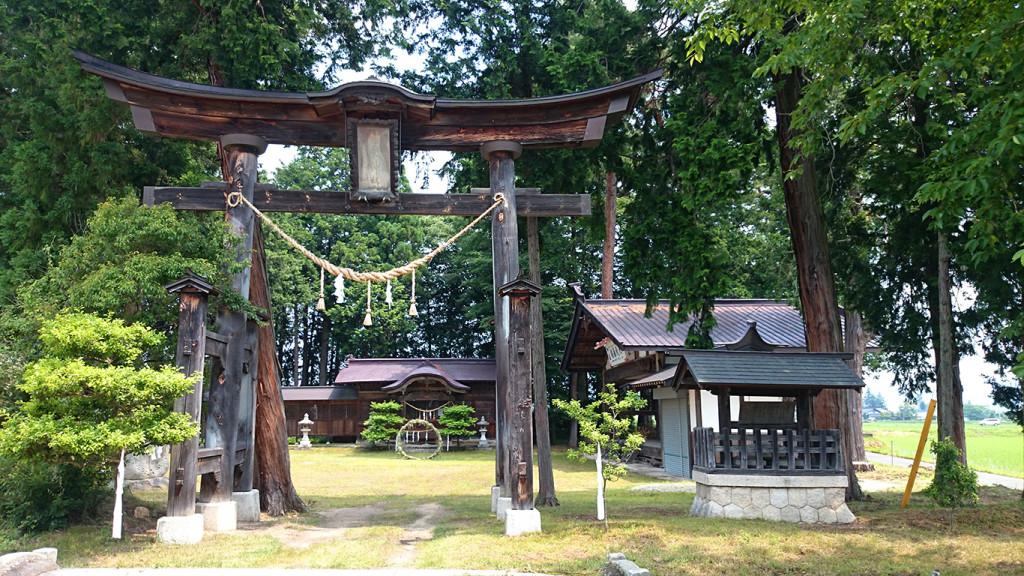 舘宮神社の鳥居