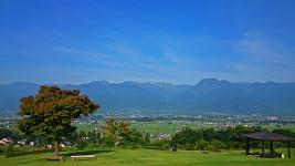 池田町クラフトパークからの風景1