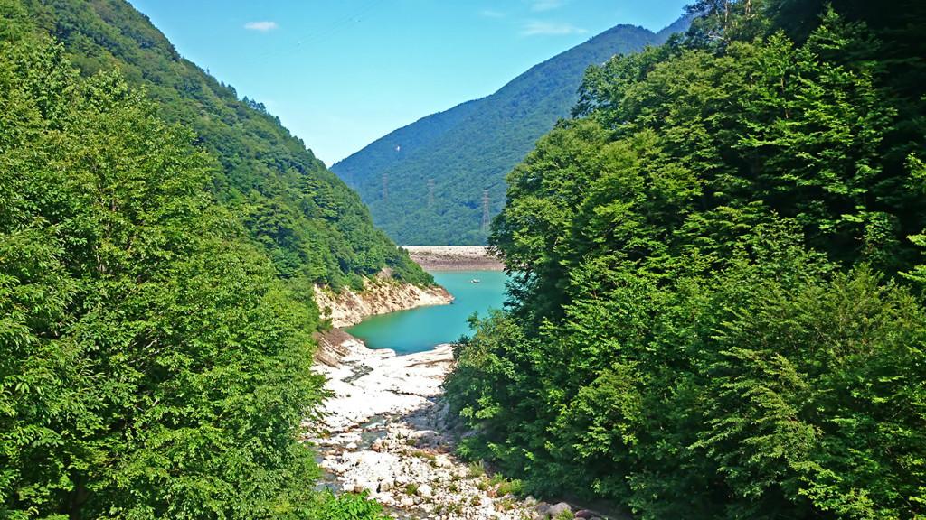 七倉からの風景
