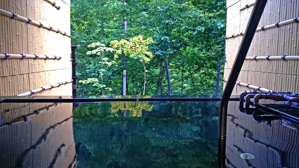 七倉山荘の温泉