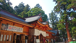 穂高神社拝殿