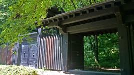 小岩嶽城址 模擬門