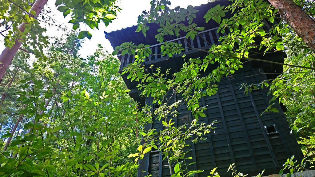 小岩嶽城 のろし展望台