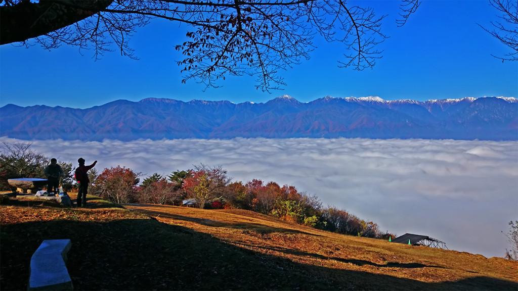 長峰山からの雲海1