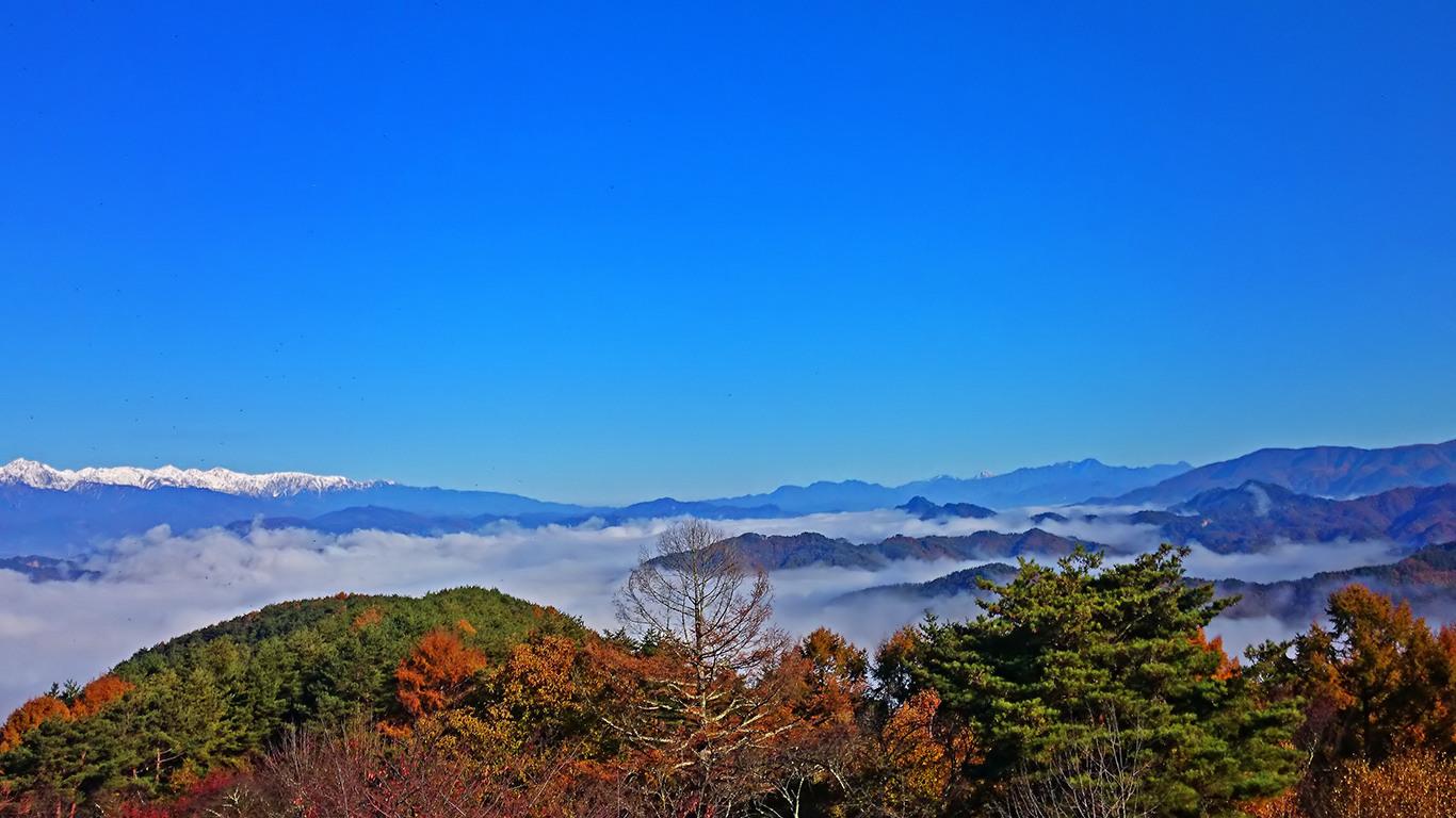長峰山からの雲海3