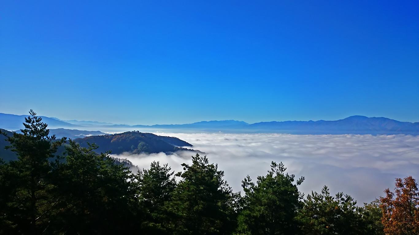 長峰山からの雲海4