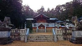 有明山社(松川村)