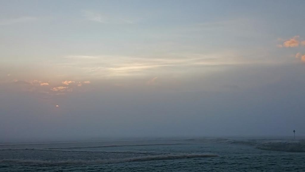 霧に包まれた有明1