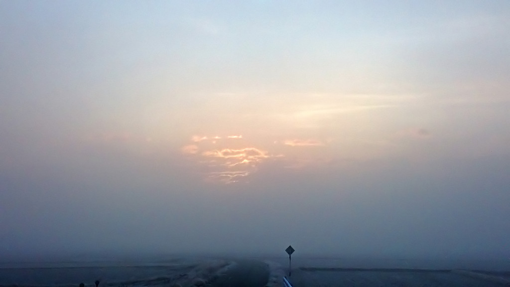 霧に包まれた有明2