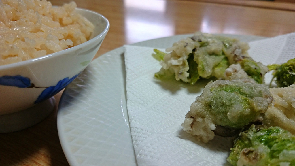 フキノトウの天ぷら