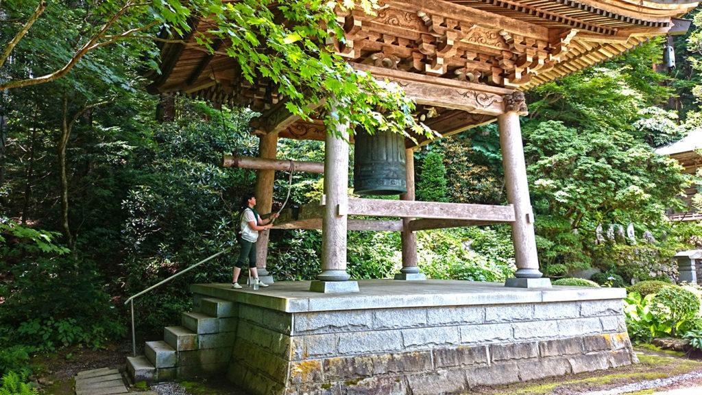 満願寺の鐘楼