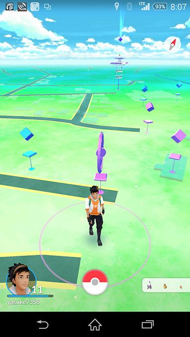 ポケストップ安曇野ちひろ美術館界隈