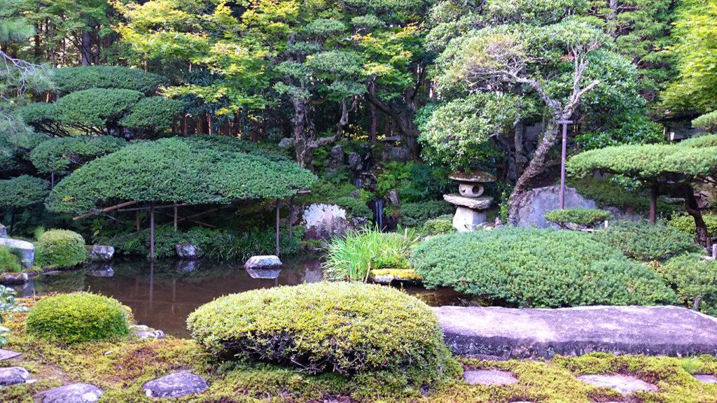 大庄屋山口家の庭