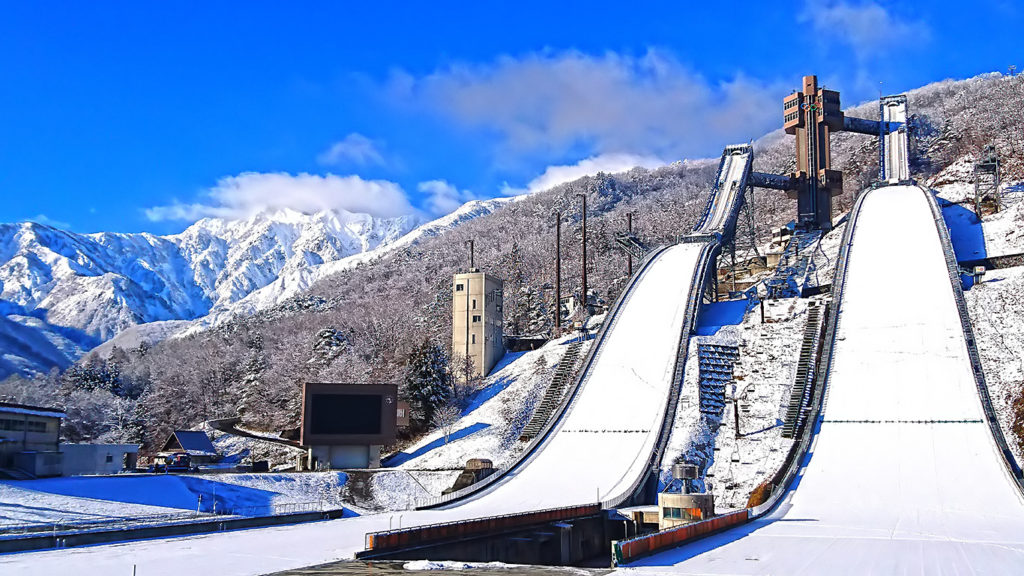 白馬 スキージャンプ台1