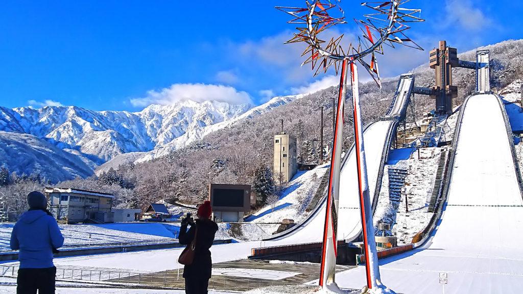 白馬 スキージャンプ台2