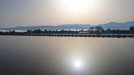 早朝の幻想的な風景1
