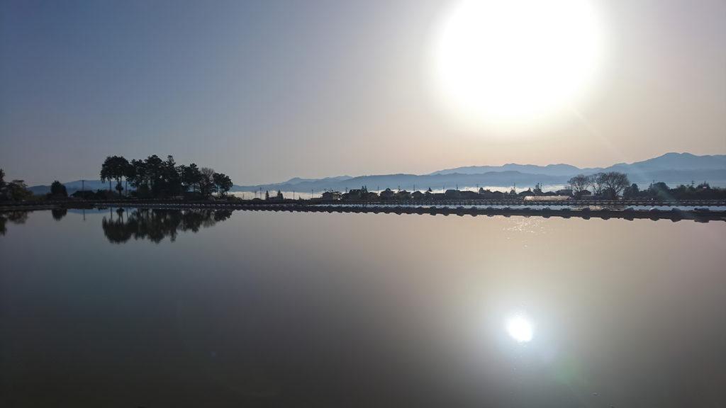 早朝の幻想的な風景2