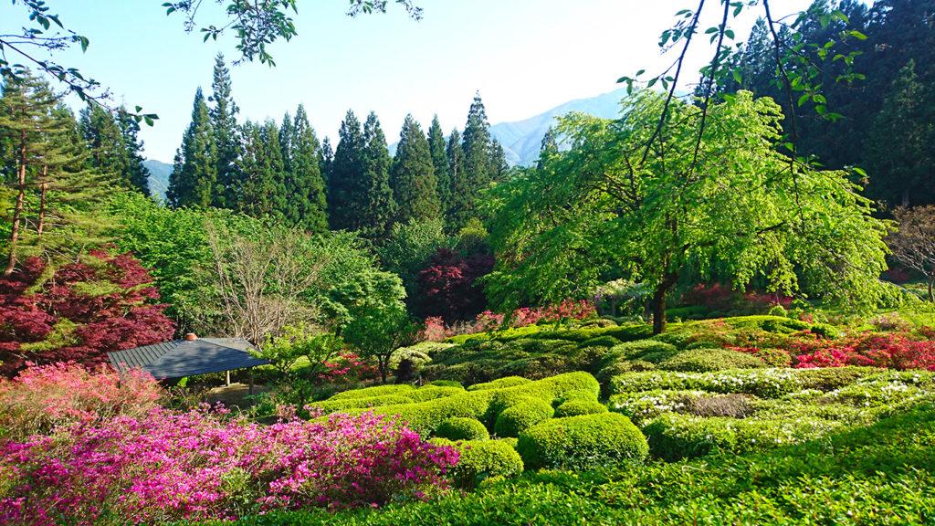 満願寺の庭